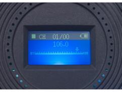 casque audio sans fil bluetooth avec récepteur radio fm intégré et lecteur mp3 via carte micro sd auvisio ohs 180
