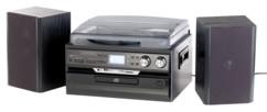 Chaîne stéréo 5 en 1 MHX-600.bt avec encodeur numérique