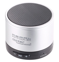 mini enceinte bluetooth avec boitier en metal compatible iphone android Auvisio