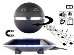 enceinte de salon design a levitation magnetique 10w auvisio