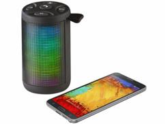 Haut-parleur bluetooth & lecteur MP3 lumineux LSS-213