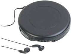 baladeur cd vintage retro walkman classique avec écouteurs et lecture mp3 auvisio