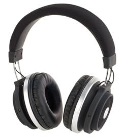 casque audio over ear bluetooth avec commandes tactiles sur ecouteur auvisio ohs-150.t