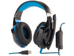 casque caming mod it ghs-400 avec eclairage led et son surround 7.1 hardcore pc gamer