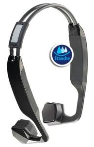 Micro-casque sport et bluetooth ostéophonique étanche BC-40.sh