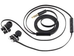 casque ecouteurs filaires avec technologie double membrane et double micro auvisio zx1623