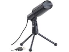 """Microphone à condensateur professionnel USB """"MC-130.usb"""""""