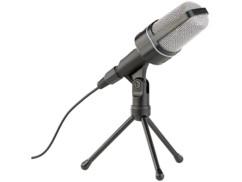 micrphone professionnel pc pour enregistrement voix youtubeur realisation vidéo internet