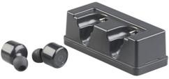 paire decouteurs sans fil bluetooth avec boitier de transport chargeur intégré longue autonomie auvisio ihs-440