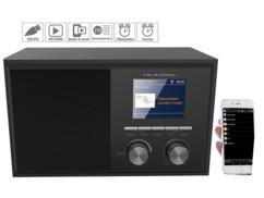 Radio Internet connectée 6 W avec écran couleur et fonction réveil IRS-250