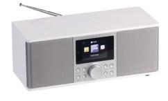 Radio Internet / DAB+ / bluetooth / FM stéréo avec réveil IRS-670  - Blanc