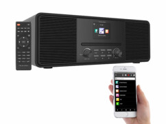 Radio Internet stéréo 20W IRS-680 - Noir (reconditionnée)