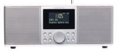 Radio numérique stéréo DAB+/FM avec fonctions bluetooth & réveil DOR-500 - Blanc