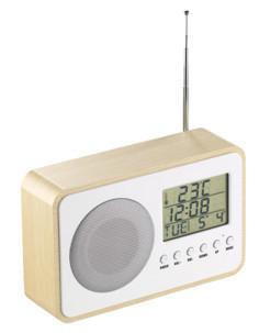 mini radio reveil fm avec ecran lcd et antenne auvisio