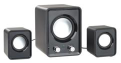 Système de haut-parleurs 2.1 USB 10 W avec subwoofer