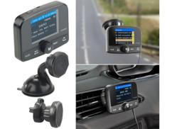 """Transmetteur FM avec bluetooth et récepteur DAB/DAB+ """"FMX-640.dab"""""""