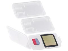 3 boites de protection pour carte SD / MiniSD / MMC