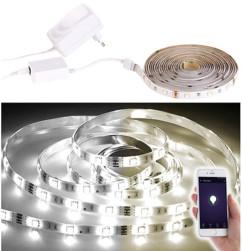 Bande LED LAT-530 - 5 m blanc ajustable - Avec accessoires