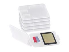 6 boites de protection pour carte SD / MiniSD / MMC