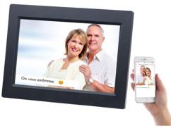 """Cadre photo numérique connecté à écran tactile IPS 10,1"""" DF-800.WiFi"""