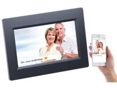 """Cadre photo numérique connecté à écran tactile IPS 7"""" DF-600.WiFi"""