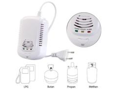 Détecteur de gaz domestiques 85 dB par VisorTech.