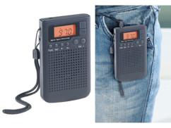 Récepteur radio numérique de poche FM/AM avec fonction Radio-réveil