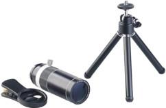 Téléobjectif pour smartphone à zoom optique 20x et trépied CVL-200.tel