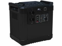 Batterie nomade HSG-1150 avec une capacité de 455 Ah et une puissance de 1456 watts.