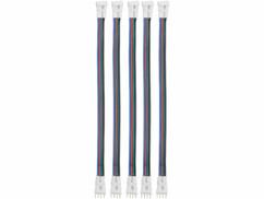 Cinq connecteur pour bandes LED modèle WRL-30.