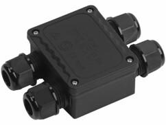 Boîtier de connexion d'extérieur pour 4 câbles de Ø 9 - 14 mm