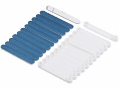 Pack de 12 clips aimantés en métal pour moustiquaire Infactory.