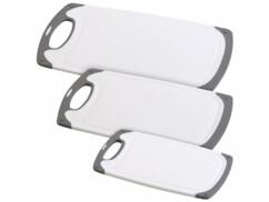 Pack de 3 planches à découper en 3 tailles différentes.
