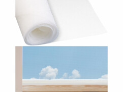 Moustiquaire en fibre de verre - 100 x 250 cm - Blanc