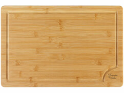 Planche à découper en bambou de 45 x 30 centimètres.